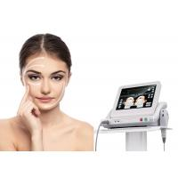 China Vertical Stationary HIFU Beauty Machine For Face Lifting / Wrinkle Removal on sale