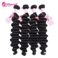 China Ali Pearl Loose Deep Wave 8A Virgin Human Hair Weave Bundle Deals wholesale