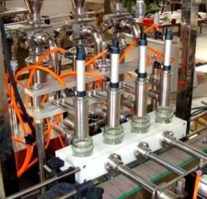 China Tomato Sauce Filling Machine Glass Bottling Equipment 10ml-5000ml wholesale