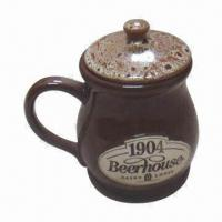 China Coffee Mug/Beer Cup, Available in Various Sizes, Logos, OEM Orders Welcomed wholesale