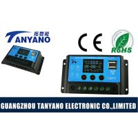 China Solar Panel Regulator Charge Controller / Solar Cell Charge Controller With Dual USB 5V Output wholesale