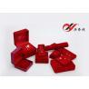 China Joyero del terciopelo para el sistema incluyendo el brazalete del anillo y la caja de reloj de cadena pendientes wholesale