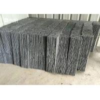 China Grey Slate Cultured Stone Decorative Building Materials For Wall Covering / Drain Board wholesale