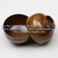 China Wooden utensils, wooden bowls, wooden bowls of rice, wooden soup bowl, wooden salad bowl on sale