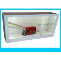 China Nano Touch Transparent Lcd Display Case , USB / HDMI Input Transparent Smart Window wholesale