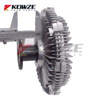 China Car Cooling Fan Clutch For Mitsubishi Pajero Lancer L200 4D56 KB4T KH4W 1320A032 1320A009 1320A011 wholesale