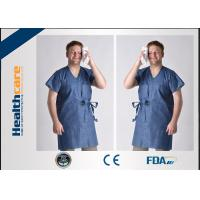 China Unisex Medical Disposable Sterile Gowns Protective Wear For Hospital Breathable wholesale