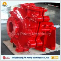 China Natural Rubber Lined Mining Horizontal Slurry Pump wholesale