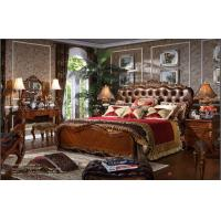 China hot-selling and modern high end solid wood bedroom sets furnitures wholesale