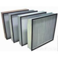 China Elementary Efficiecy Plate Air Filter wholesale
