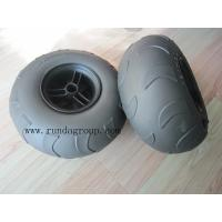 Buy cheap Penumatic light sand beach wheel for cart , trolley and trailer from wholesalers