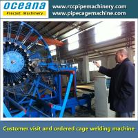 China Steel Wire Cage welding machine  for concrete pipe HGZ800-2400MM on sale