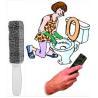 China 磨く棒(4パック)の洗面所の洗剤、洗面所リング除去剤、プールのクリーニングの石を軽石でこすって下さい wholesale