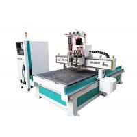 China 1530 ATC Carousel Tool Change Wood Cnc Machine , 4 Axis Industrial Cnc Router wholesale