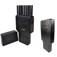 China 16 Bands Portable Cell Phone Jammer WIFI GPS UHF VHF 315 433 Signal Jammer wholesale