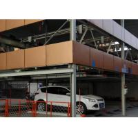China Q345B Multi Storey Steel Structure Car Parking Automatic Hot Dip Galvanized Surface wholesale