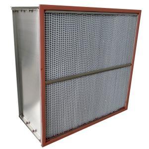 China Custom Fiberglass High Temp Hepa Filter H13 For Hospital / Food Industrial on sale