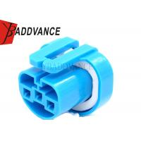 China 12048369 Blue Female 3 Way Headlight Bulb Connector For International Truck on sale