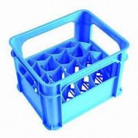 China Plastic Beer Box Mold with Software UG, PROE, CAD and CAXA Designs on sale