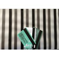 China PVC Coated Overlay Magnetic Stripe A4 Size HICO/ LOCO For Plastic Card Making on sale
