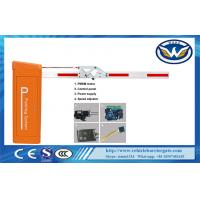 China 0.9s 3m High Speed DC Motor Traffic Electronic Barrier Gates With Folding Arm , CE Approved wholesale