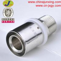China press fittings for pex-al-pex pipe male coupler wholesale