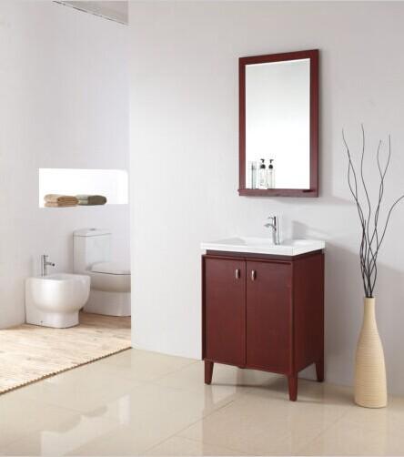 Cherry Bathroom Vanity Images