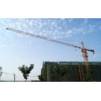China Tower Crane with 55m Height Under Hook, 1.3ton Tip load Tower Crane 5013 on sale