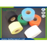 China Colourful Microporous glue Rigid Cotton Sports Strapping Tape Athletic tape wholesale