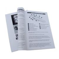 China OEM UV coated catalogue offset Colorful Booklet Printing services for promotion on sale