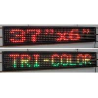 China Outdoor waterproof single red led scrolling display  programable control by PC on sale