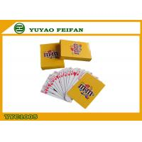 Buy cheap Coolest Personalized Oversized Playing Cards For Entertainment , Oversized Poker from wholesalers