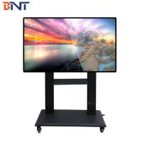China education touch screen floor stand mobile cart can install the trays  for  DVD terminal BNT-108T wholesale