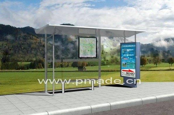 Prefabricated Bus Shelter : Unit the shelter company gimme