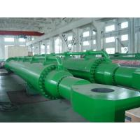China Small Radial Gate Electric Big Hydraulic Cylinder Steel With Deep Hole wholesale