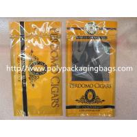 Plastic Cigarettes Cigar Humidor Bags With Hanger Hole Personalized Style for sale