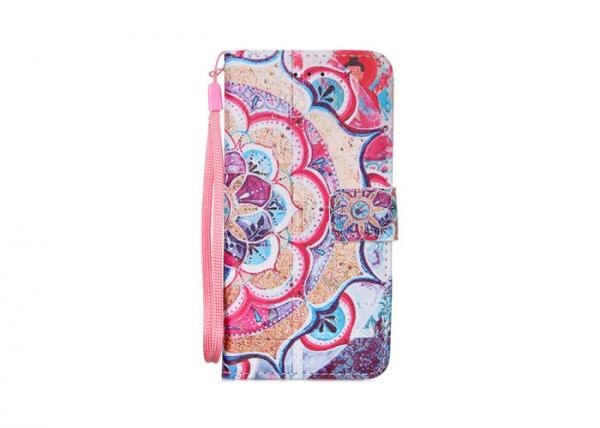 Quality Pu Protective Scratch Resistant Phone Cases Iphone 7 Magical Semi Circle for sale