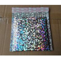 China Shiny Holographic Bubble Envelopes , Express Packing Holographic Poly Mailers wholesale