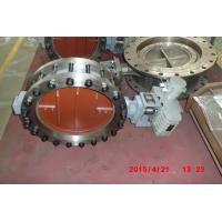 China Electric Actuated Butterfly Valve , DN50 - DN2400 Wafer Butterfly Valve Flange Type wholesale
