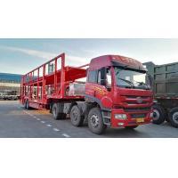 China CIMC Triple Axles Car Transport Carriers Car Loader Truck Flatbed Platform wholesale