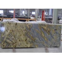 China Tiger Yellow Granite Kitchen Countertops For Commercial / Residencial wholesale