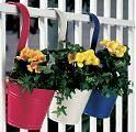 China Hanging Tin Planters S/3 (SUN-016) wholesale