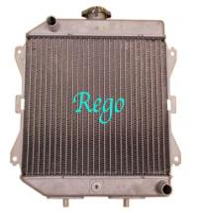 China Honda Rincon Aluminum ATV Radiator For Automotive Car Engine Cooling wholesale