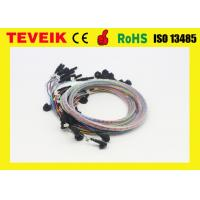 China DIN1.5 Socket EEG Cable Cup Electrode Medical Custom Length One Year Warranty wholesale