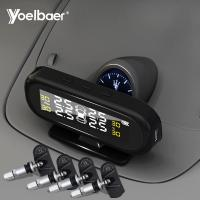 China Factory Directly Sell Car TPMS USB Solar Power Tyre Pressure Monitoring System wholesale