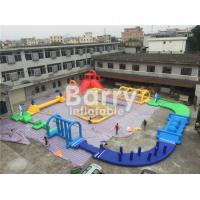 China Giant 22 * 25m Adult Amazing Inflatable Water Park With Air Blower / Repair Material wholesale