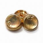 China приняты кнопки легирующего металла цинка 17.5мм, подгонянные дизайны и логотипы wholesale