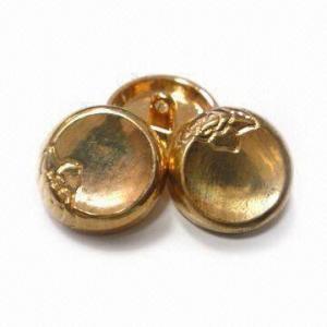 China os botões ligas de zinco do metal de 17.5mm, os projetos personalizados e os logotipos são aceitados wholesale