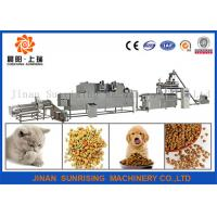 Buy cheap long performance good taste pet food production line energy saving from wholesalers