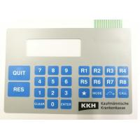 China Customized High Quality Double Tail Embossed Tactile Membrane Switch wholesale